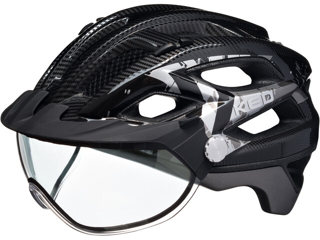 KED Covis - Casco de bicicleta - gris/negro